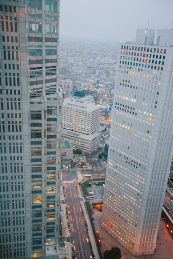 City View of Tokyo Japan