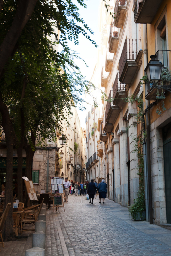 Cobblestone Streets of Girona