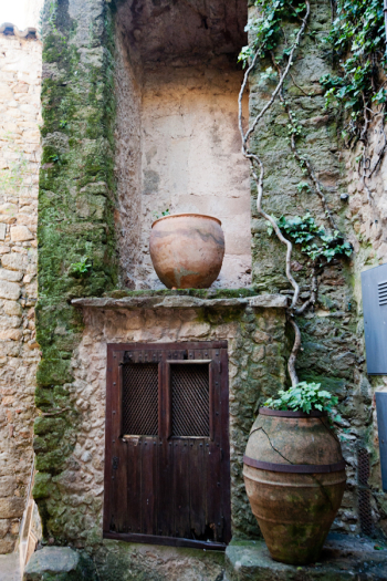 Costa Brava Stone Wall and Door