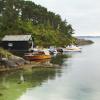 Docked Boats in Bergen Norway