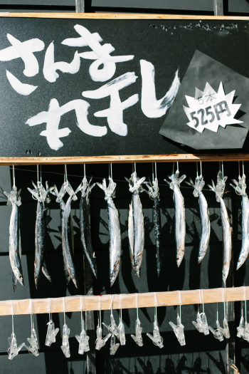 Dried Fish in Hakone