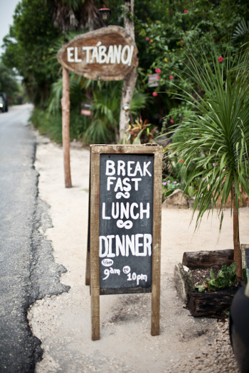 El Tabano Restaurant in Tulum