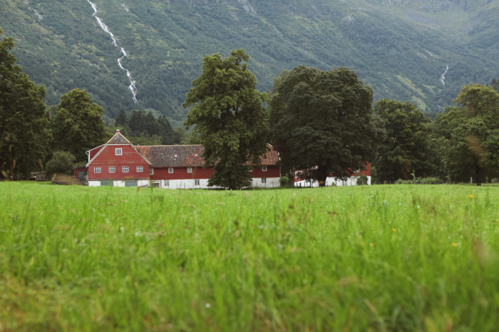 Farm in Bergen Norway