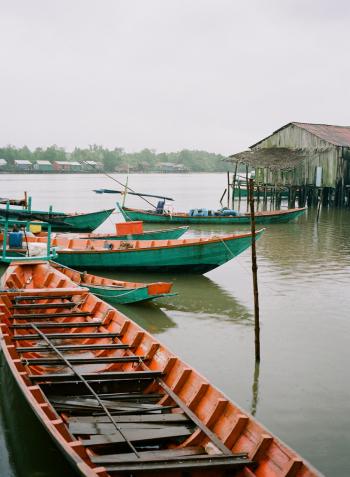 Fishing Village of Koh Sralao Cambodia