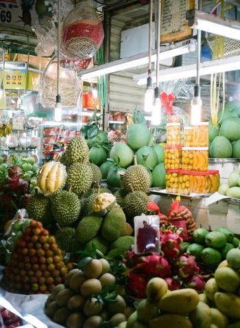 Fruit at Benh Thanh Ho Chi Minh