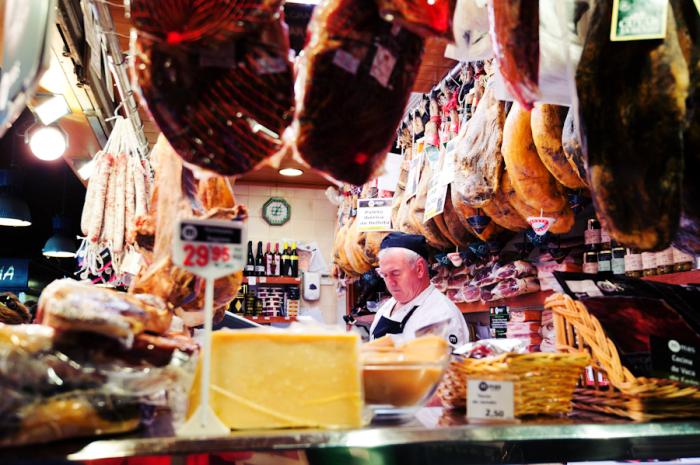 La Boqueria Meats and Cheeses