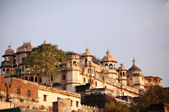 Landscape of Udaipur
