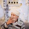 Man Smoking in Udaipur