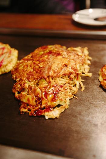 Okonomiyaki of Osaka
