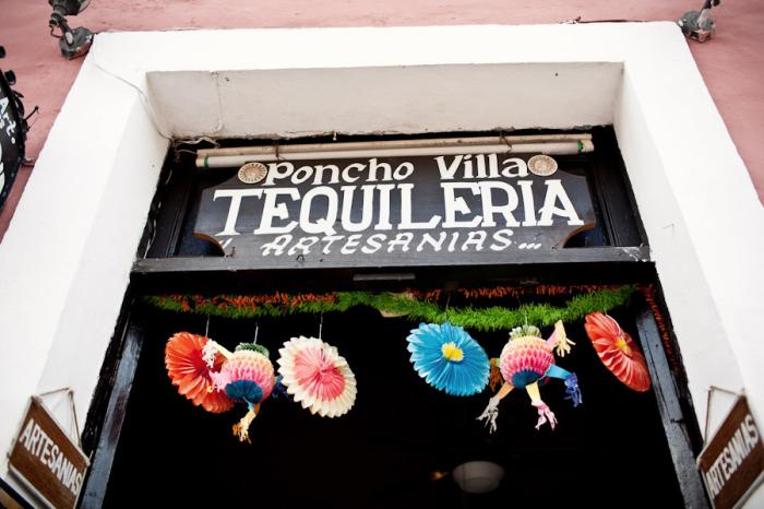 Poncho Villa Tequileria in Valladolid