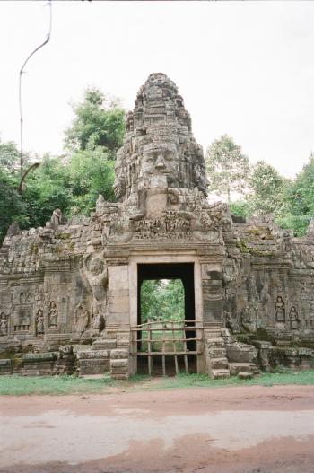 Portrait at Angkor Wat