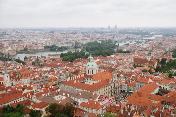 Prague Castle View