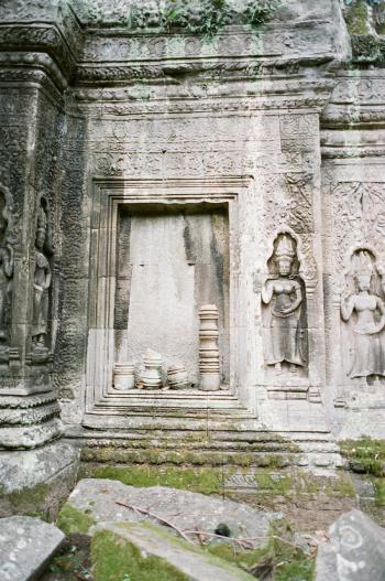 Ruins of Ta Prohm Cambodia