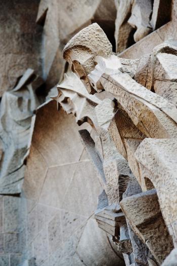 Sagrada Familia Facade Detail