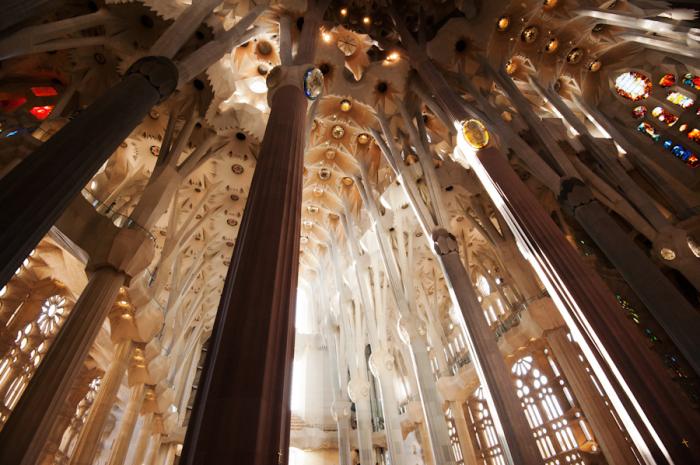 Sagrada Familia Pillars