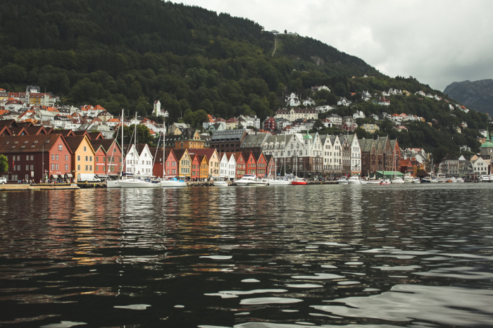 Shores of Bergen Norway