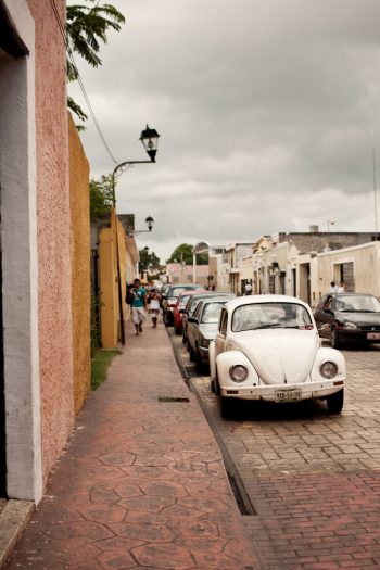 Streets in Valladolid