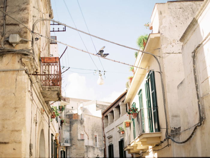 Streets of Matera