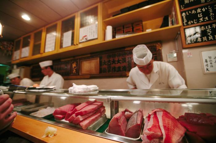 Sushi Chefs in Tokyo