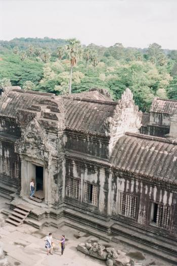 View Atop Angkor Wat