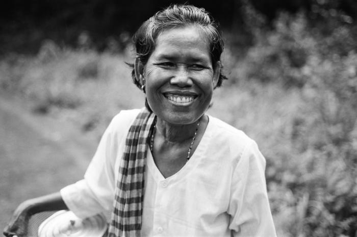 Woman in Koh Sralao Cambodia