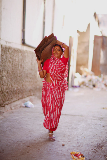 Woman in Udaipur