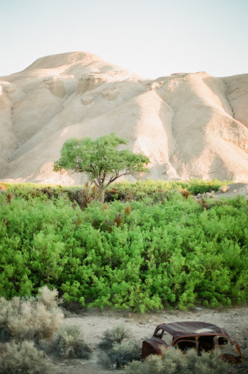 Amargosa Canyon in Death Valley