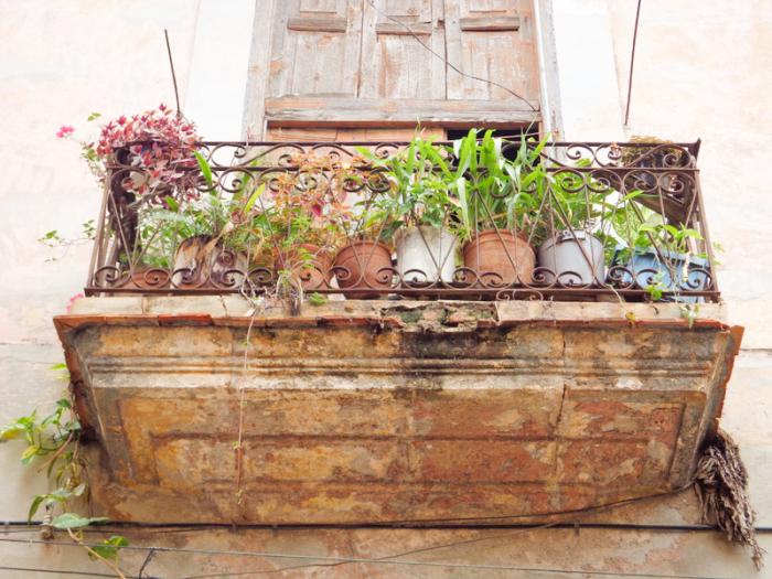Balcony in Cuba