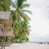 Beach Huts in the Philippines