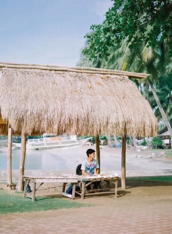 Beachside Vendor in the Philippines