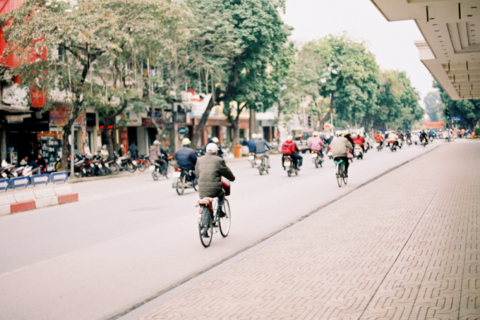 Bicycles in Hanoi