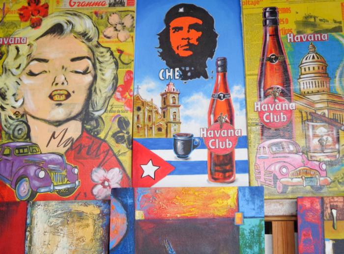 Bright Colors of Cuba
