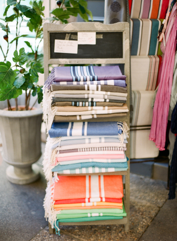 Bright Textiles in the Aix en Provence