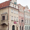 Buildings of Poznan Poland