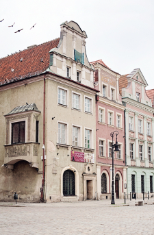 Buildings of Poznan Poland