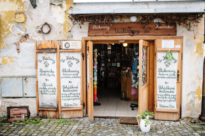 Cesky Krumlov Storefront