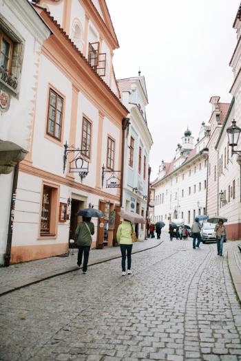 Cesky Krumlov Streets