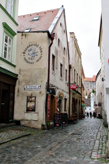 Cesky Krumlov Winding Streets