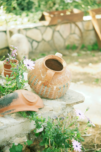 Clay Pots in Southern Turkey