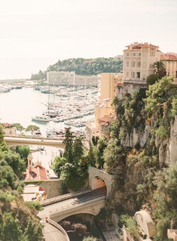 Cliffside Tunnel in Monaco