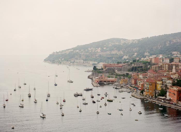 Docked Boats in Grasse France
