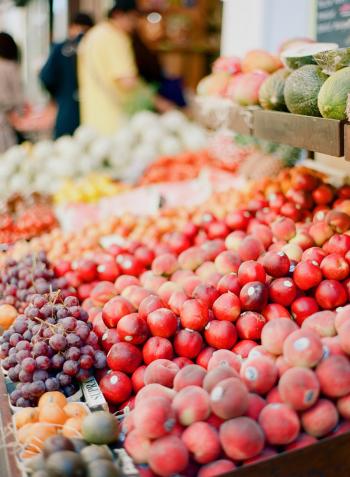 Fresh Fruit in the Aix en Provence