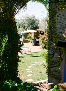 Gardens at La Surprise Bed and Breakfast in Grasse