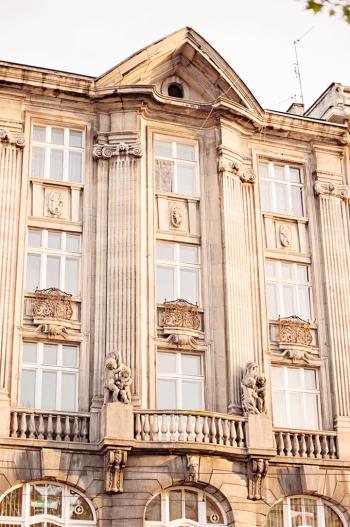 Historic Buildings in Poznan Poland