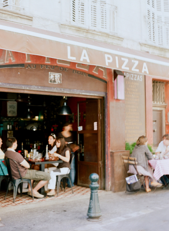 La Pizza in the Aix en Provence