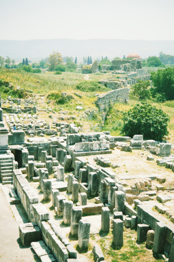 Miletus Theater Ruins in Turkey