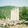 Ruins at the Temple of Athena in Priene