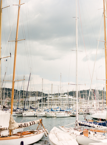 Sailboats in Cannes France