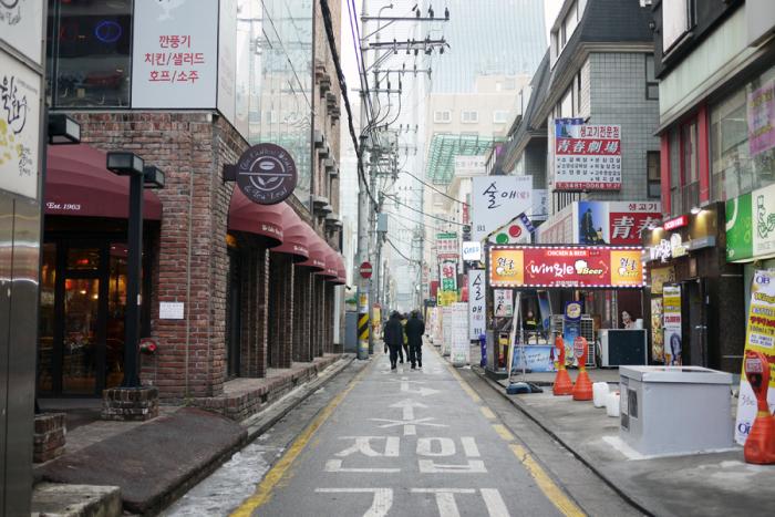 Streets of Seoul South Korea