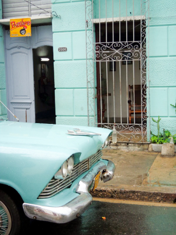 Teal on the Streets of Cuba